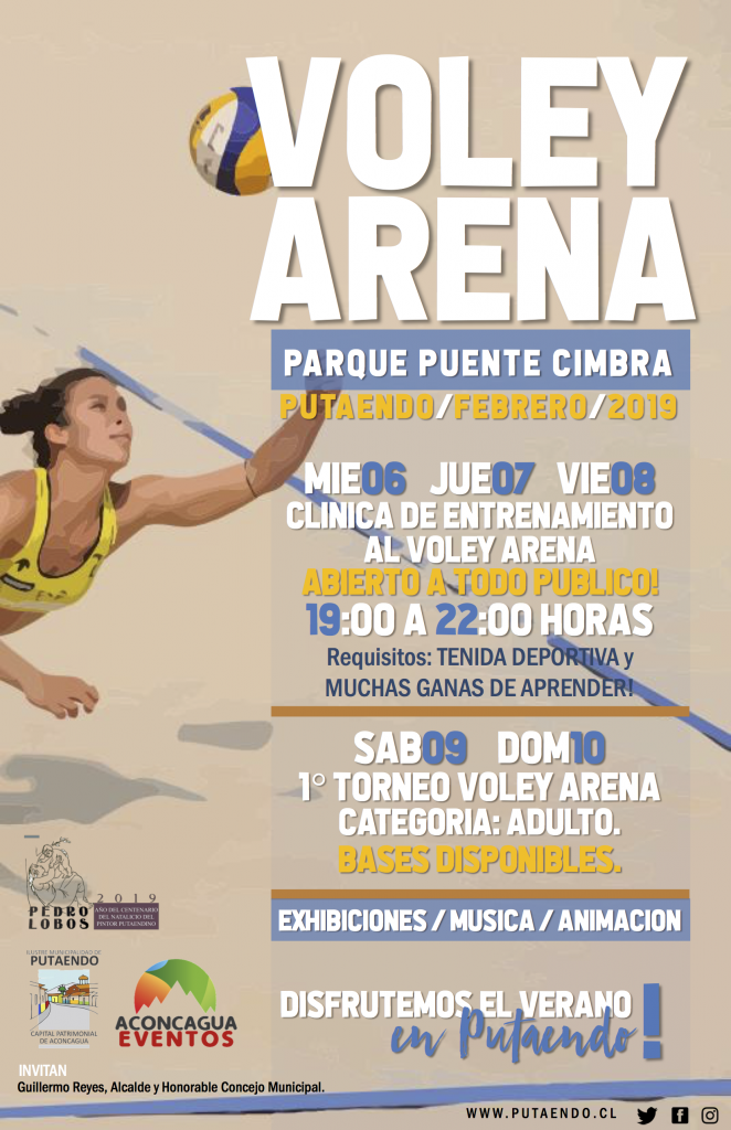 AFICHE VOLEY ARENA Pte Cimbra feb19