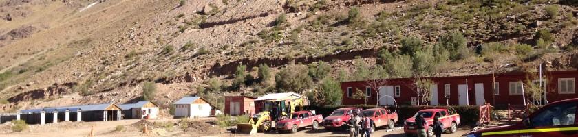 Campamento Minero en Las Tejas