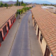 Calle Comercio desde Drone
