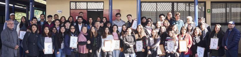 Foto Grupal Becas Municipal 2019